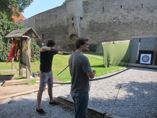 Archery in Tallinn