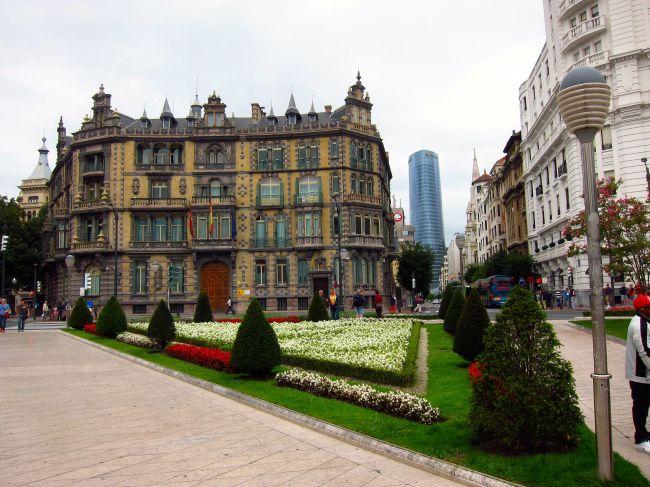 Bilbao city scene