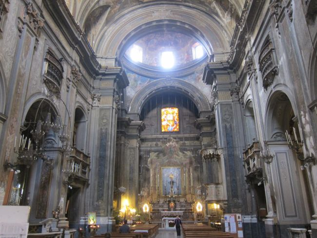 Church inside 1