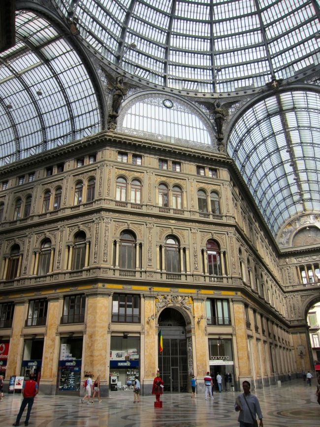 Galleria Umberto inside