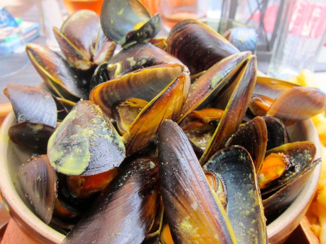 Moules Frites aux Curry
