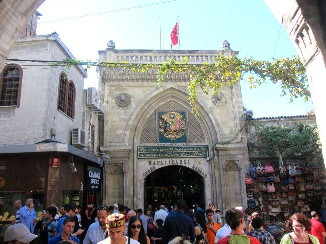 Grand Bazar entrance