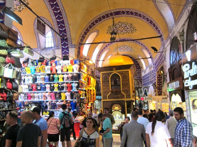 Inside Grand Bazar