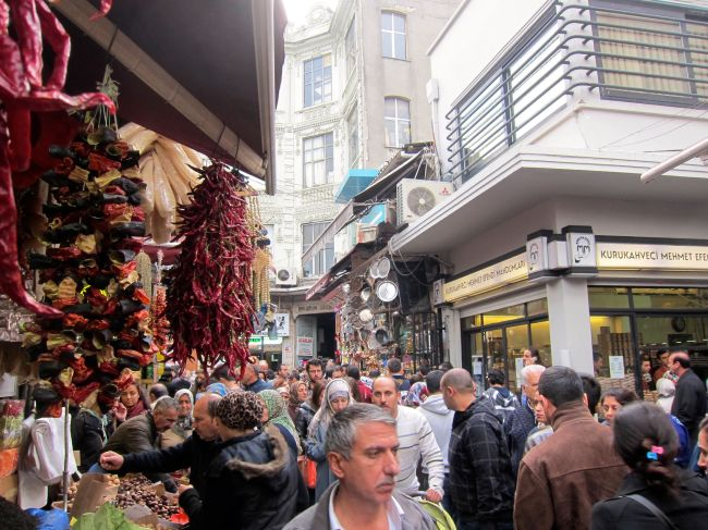 Istanbul spice market 2