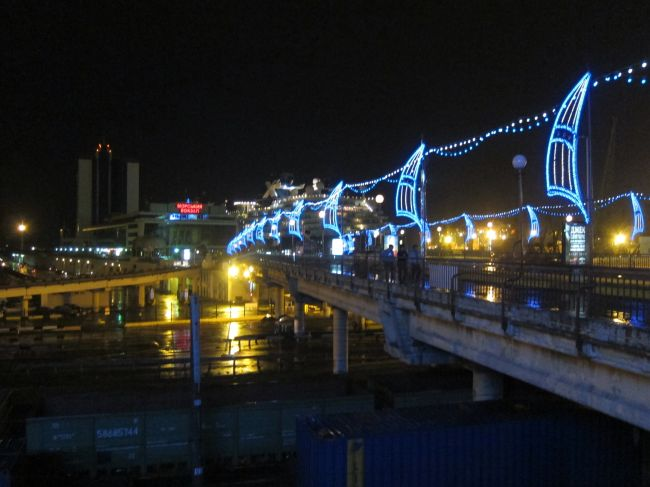 odessa night light bridge