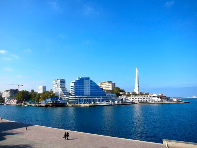 Sevastapol waterfront