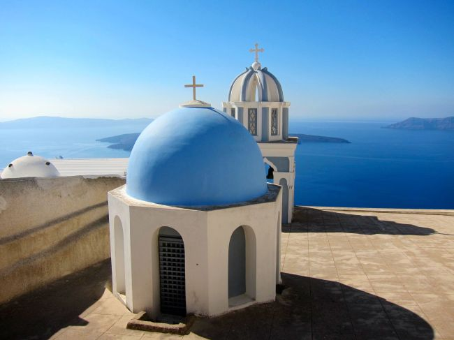greek domes