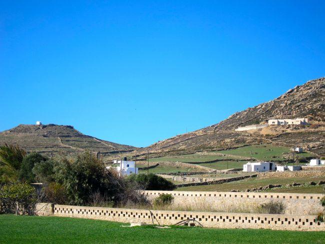 walls on hills