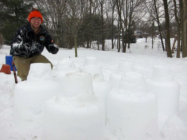 Lead snow architect and engineer, David Yee.
