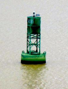 green buoy