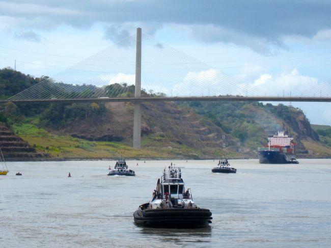 tug boat intercept