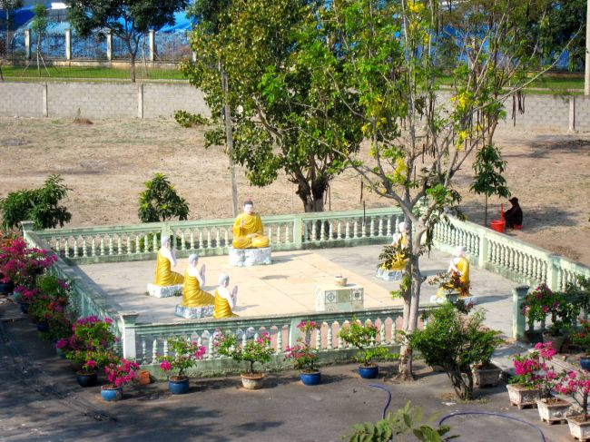 Pagoda Garden Scene