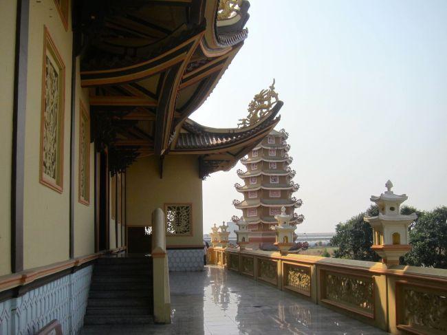 Pagoda Side view