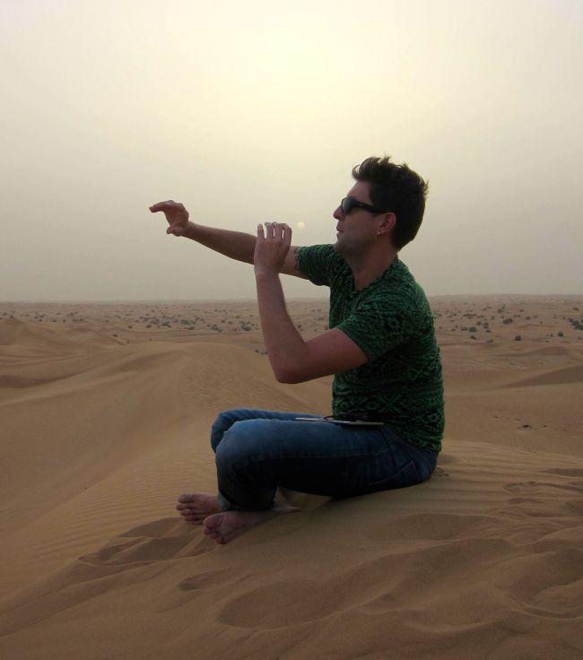 Desert spot