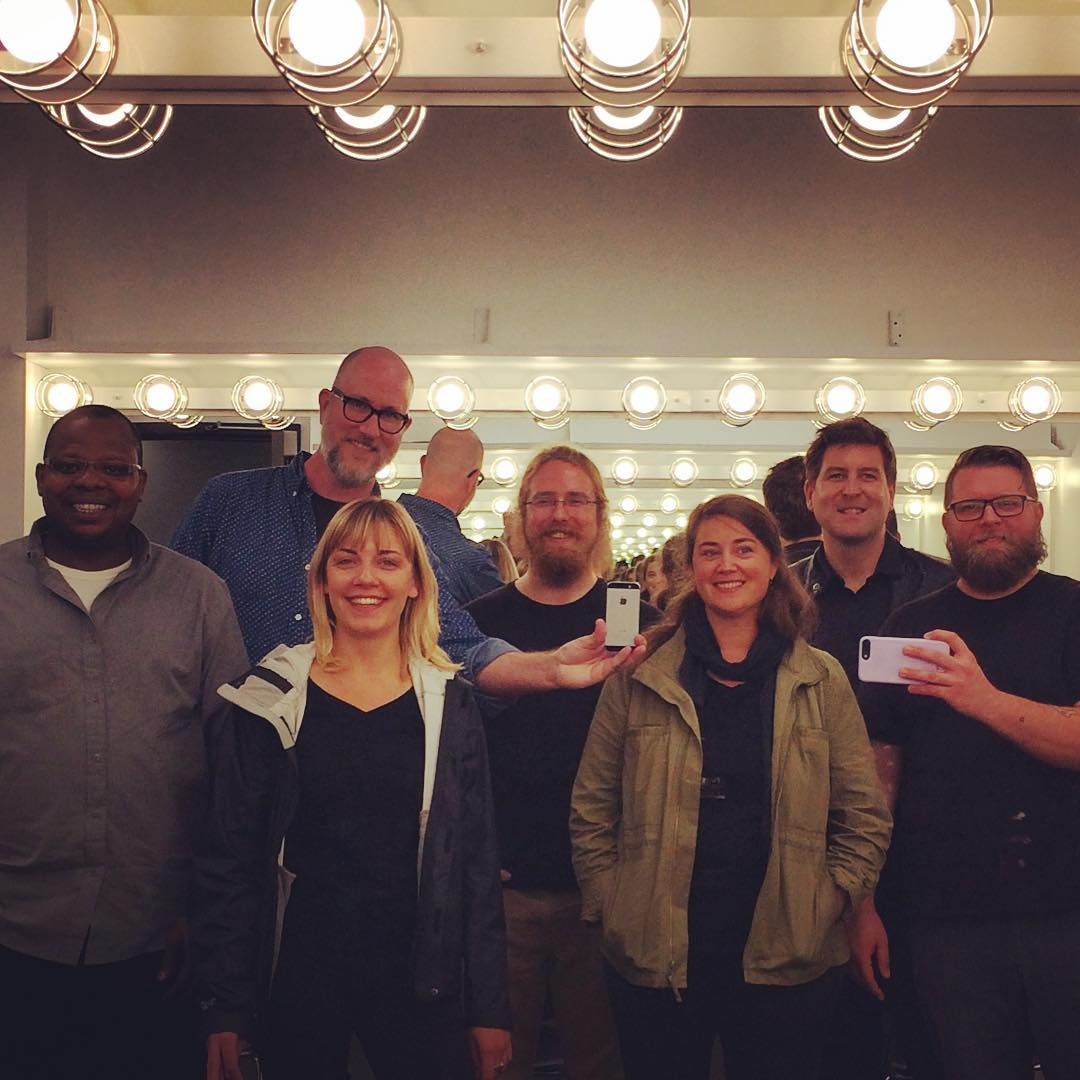 Shawnee Band Backstage
